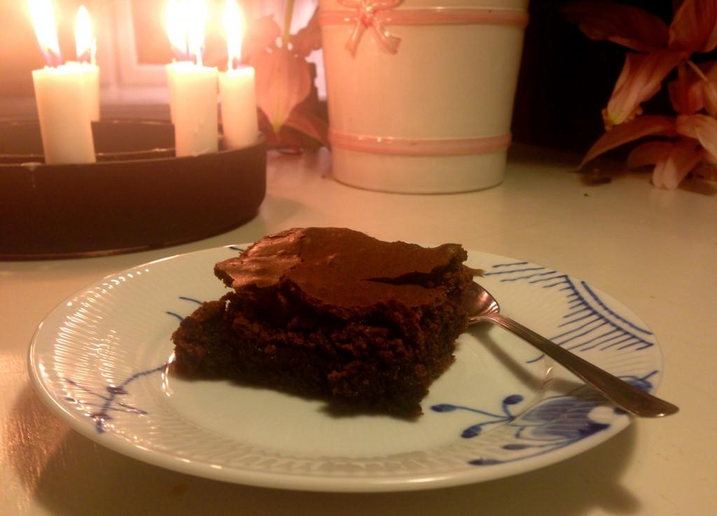 Verdens bedste chokoladekage.