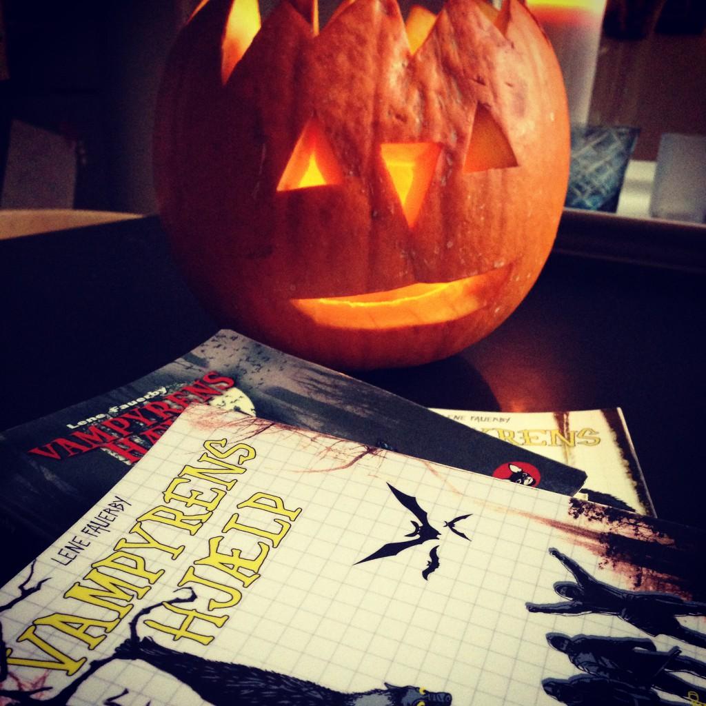 Halloween og vampyrer - HJÆLP!