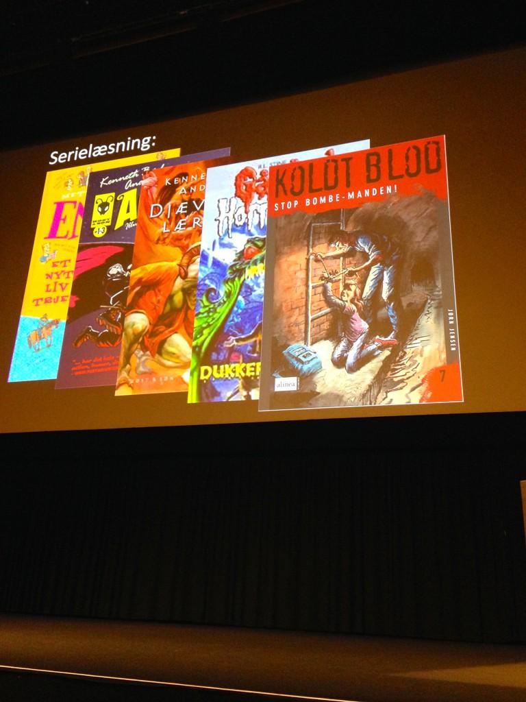 Populære seriebøger