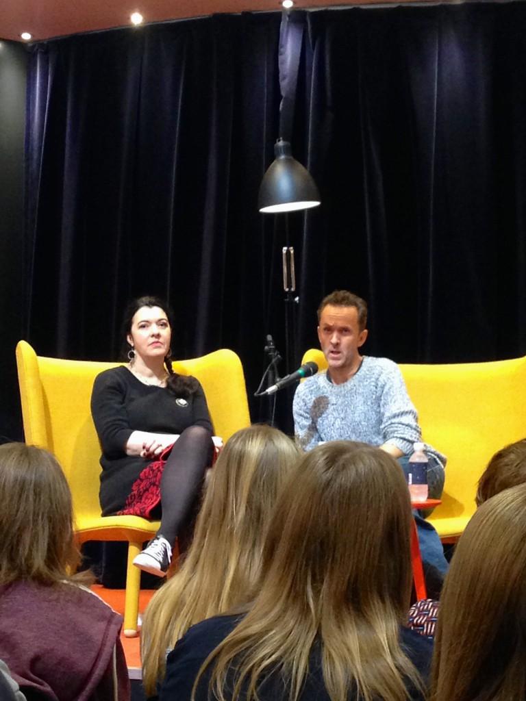 Mette Finderup og Kim Fupz Aakeson.