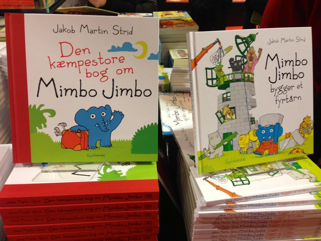 En spritny Mimbo Jimbo udkom i fredags. Den glæder jeg mig til at læse.