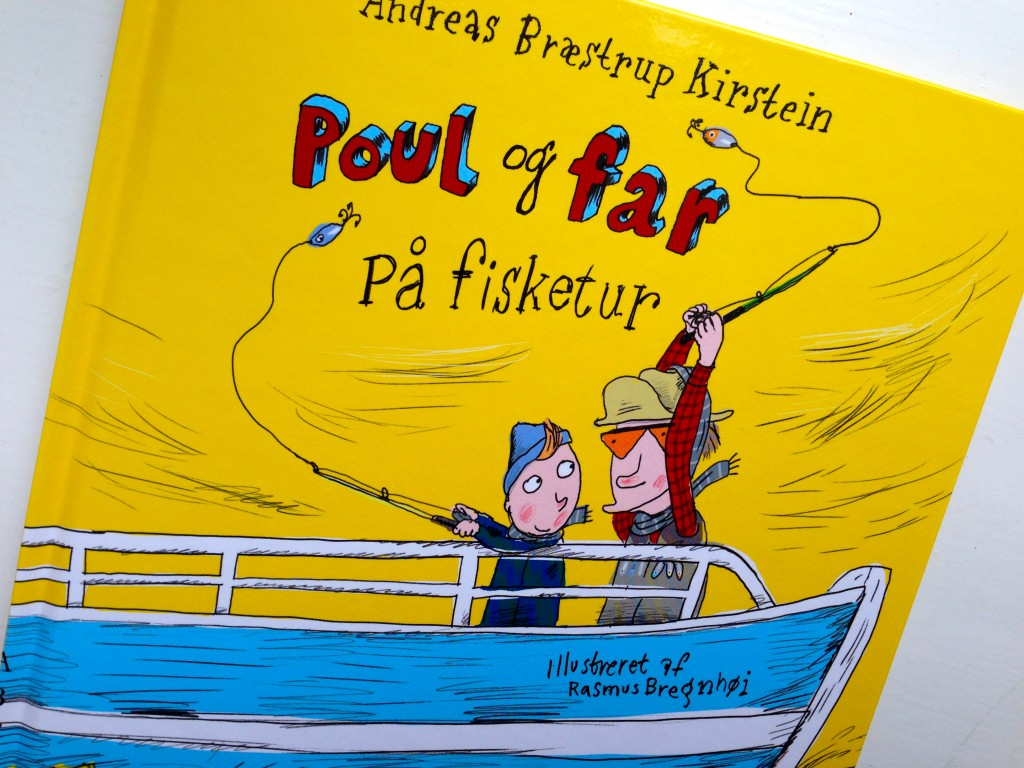 Poul og far på fisketur.